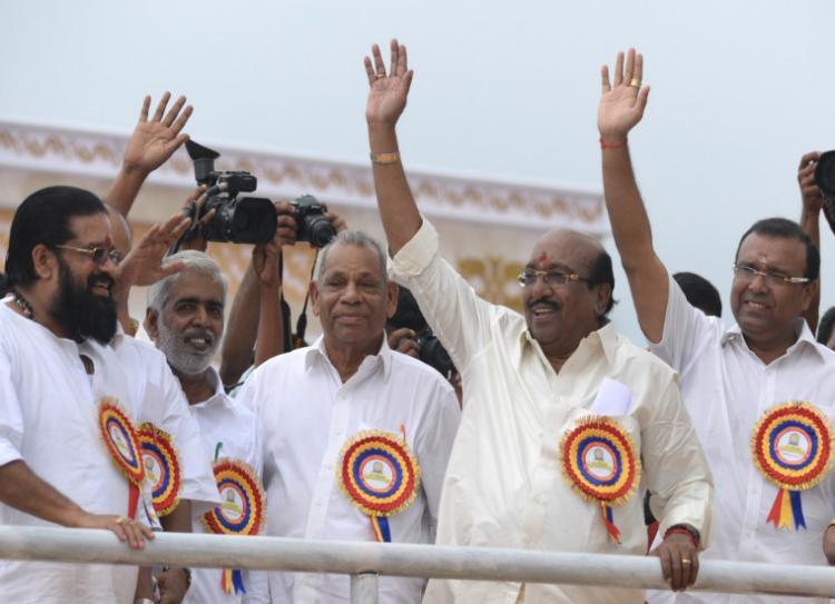 SNDP supremo Vellapally Natesan hints at BDJS-BJP split