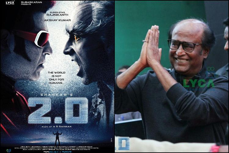Rajinikanth receives minor injuries during shoot of 20 is safe and back home now
