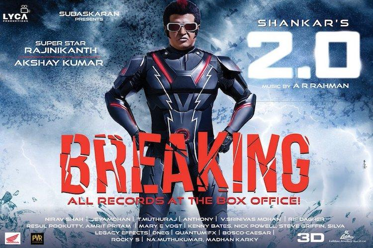 Rajinikanths 20 to release in 56000 screens in China