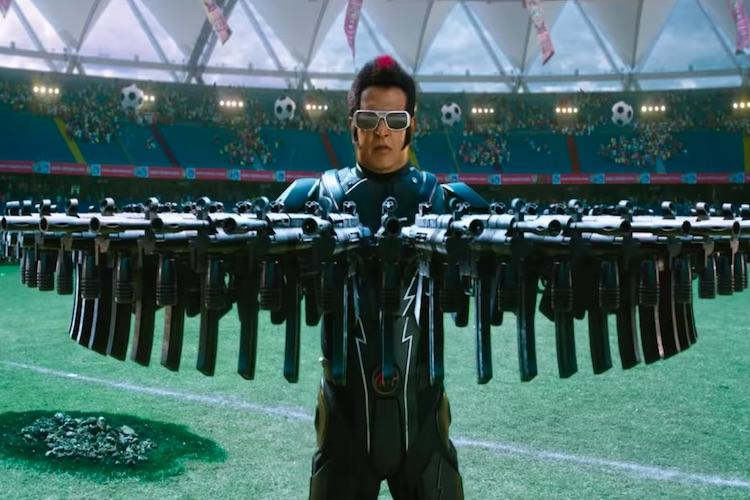 Rajini's '2.0' teaser: Chitti, Crow Man fight it out