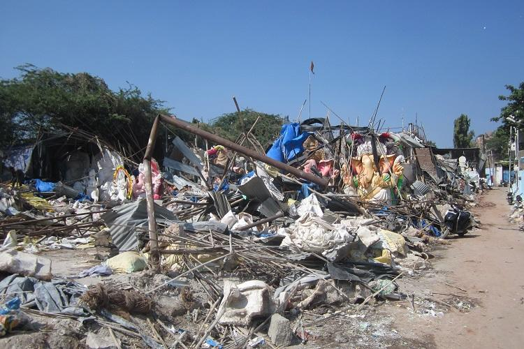 Broken deities shattered hopes Dhoolpet idol makers see a bleak future after demolition drive
