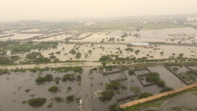 Rains lash Chennai for fifth consecutive day citys woes to continue
