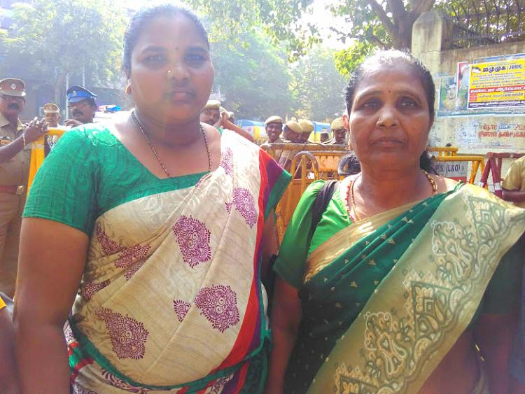 Scavenging for a life Wives of workers who died cleaning a septic tank await help for 9 years