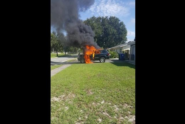 US mans car bursts out in flames after faulty Samsung phone is plugged into charger