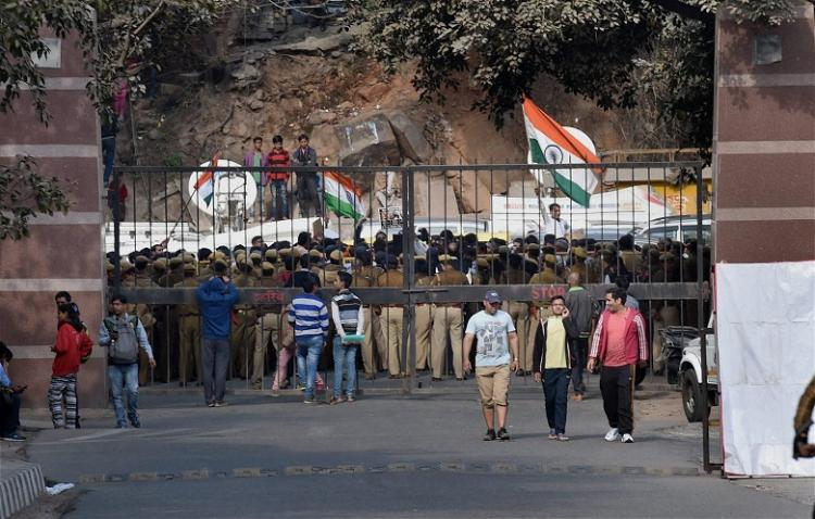What exactly happened at JNU last week A university students account