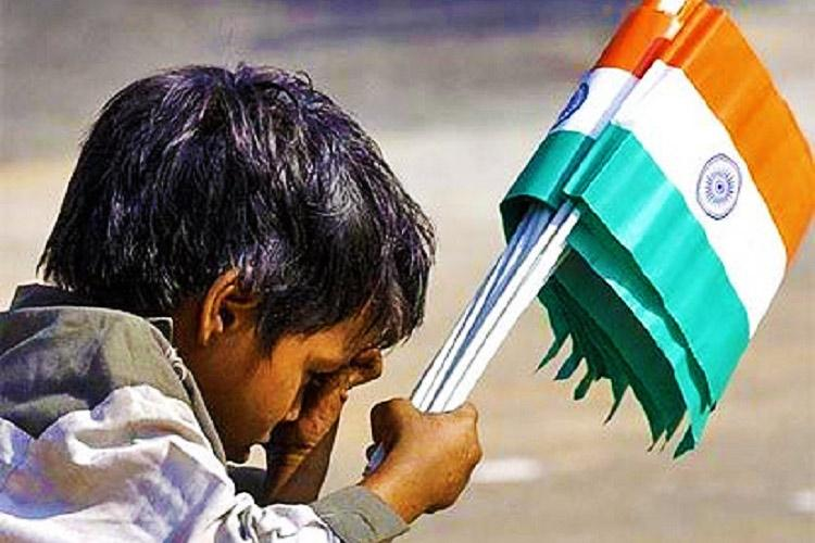 No freedom to do what I want What I-day means for children selling flags on the street