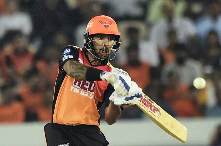 Shikhar Dhawans unbeaten 77 helps Sunrisers Hyderabad crush Rajasthan Royals