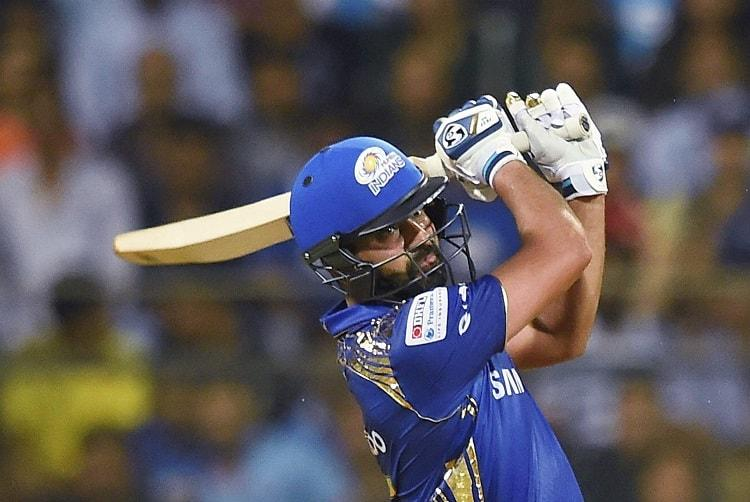 Rohit, Evin Lewis take run-rate close to 10