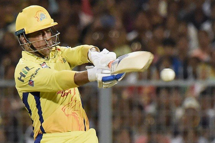 Fan breaches security at Eden Gardens runs to CSK dugout to touch Dhonis feet