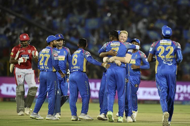 Bowlers shine as Rajasthan beat Punjab to keep play-off hopes alive