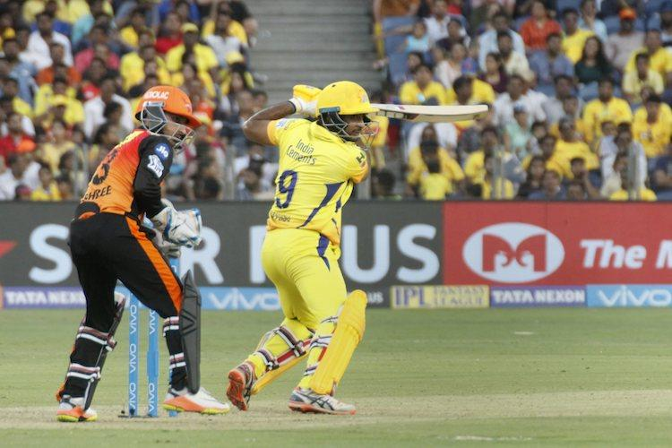 Rayudus maiden ton helps Chennai hammer Sunrisers Hyd by 8 wickets