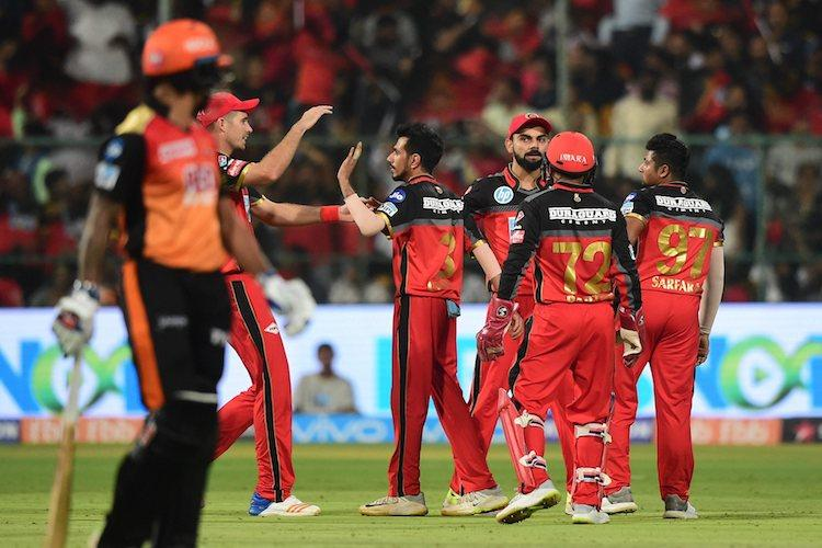 RCB beat Sunrisers Hyd in high-scoring match to record third win on the trot