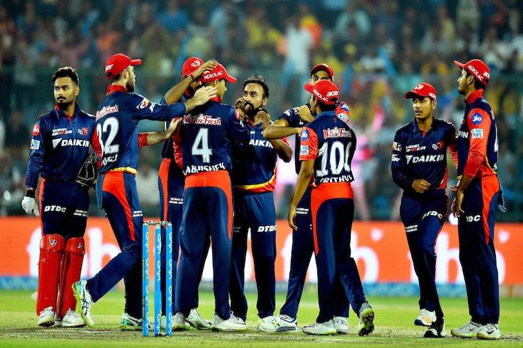 Chennais march to top halted by Delhis 34-run win