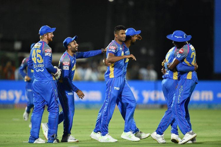 Rajasthan Royals keep play-off hopes alive after ending RCBs campaign