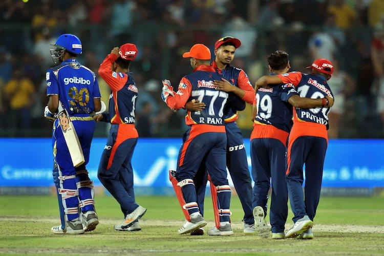 Delhi Daredevils knock out Mumbai from play-offs with 11-run win