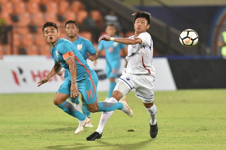 Intercontinental Cup Chhetris hat-trick helps India thrash Chinese Taipei in opener