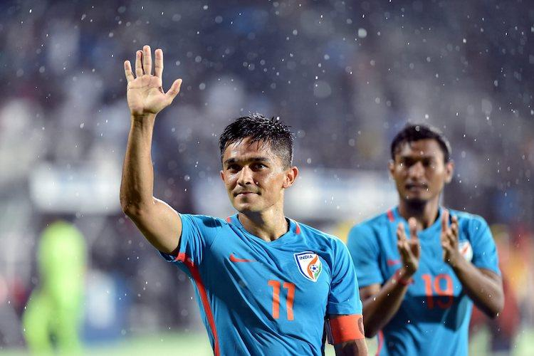 Start of good times for Indian football Chhetri thanks fans for overwhelming support