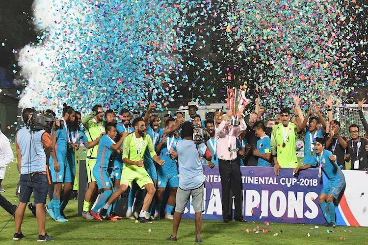 Chhetris brace helps India thrash Kenya to lift Intercontinental Cup