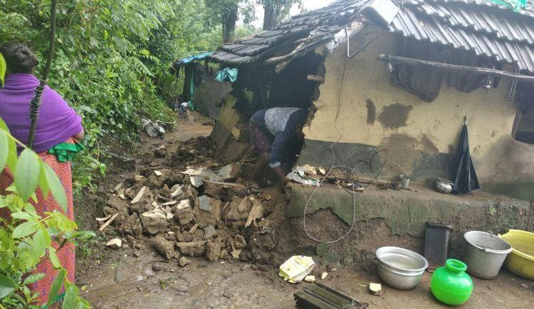 Ravaged by rains this tribal community in Kerala-Ktaka border needs your help
