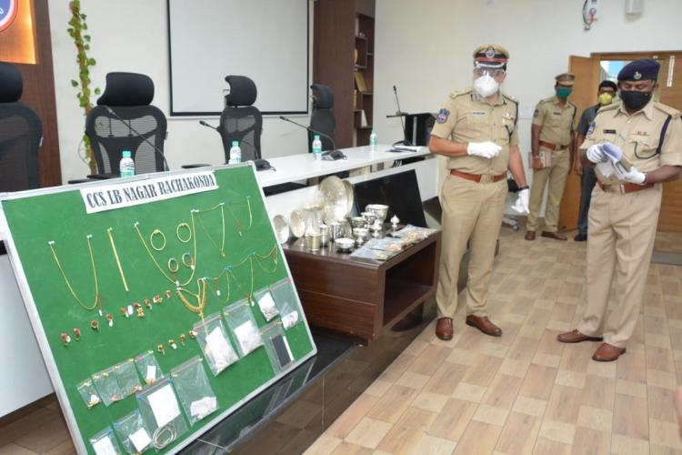 Three persons held in Hyderabad for alleged involvement in 26 burglaries since Jan