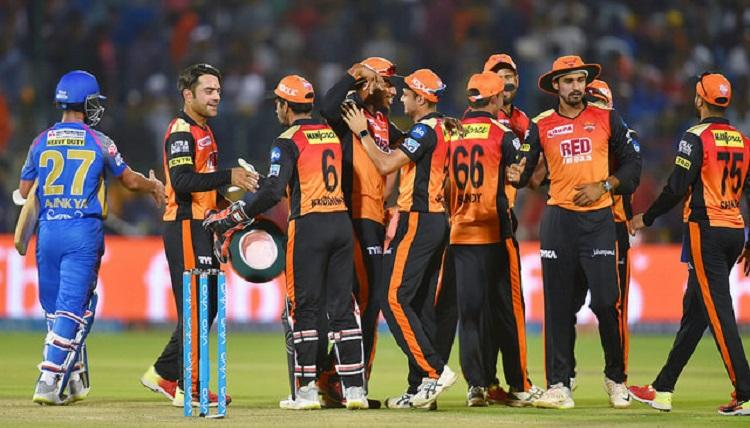 Sunrisers Hyd bowlers come to the fore in 11-run win over Rajasthan