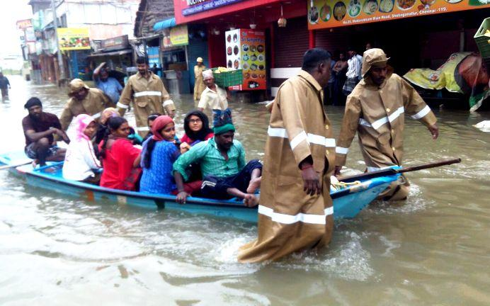 US offers aid for Chennai flood-affected