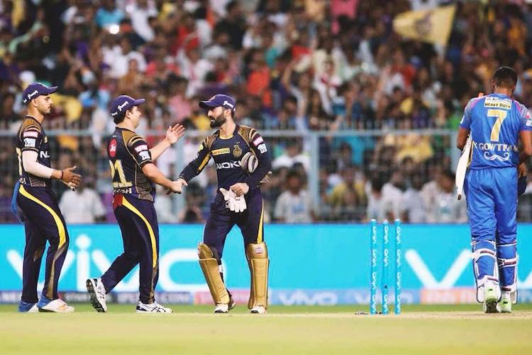 We were under the pump in this game winning 4 in a row feels good Karthik