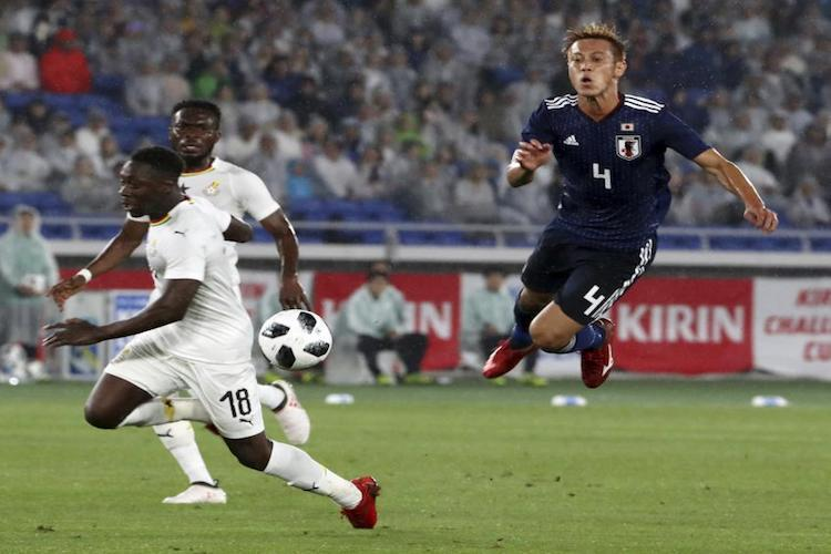 Japan lose to Ghana new coach Nishino under spotlight as World Cup looms