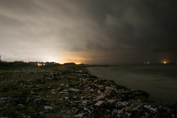 This is how bad Chennais beaches look after the rains