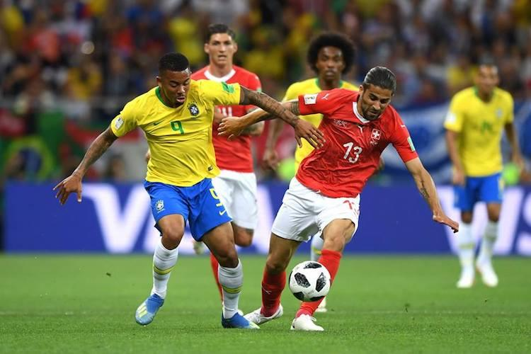 FIFA World Cup Spirited Switzerland hold off-colour Brazil