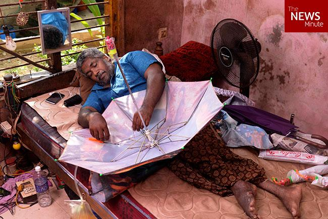 Paralysed and confined at home heres how these Kerala men and women are finding their sunshine