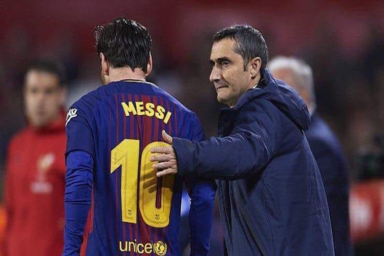 No player can replace Messi says Barca coach Ernesto Valverde