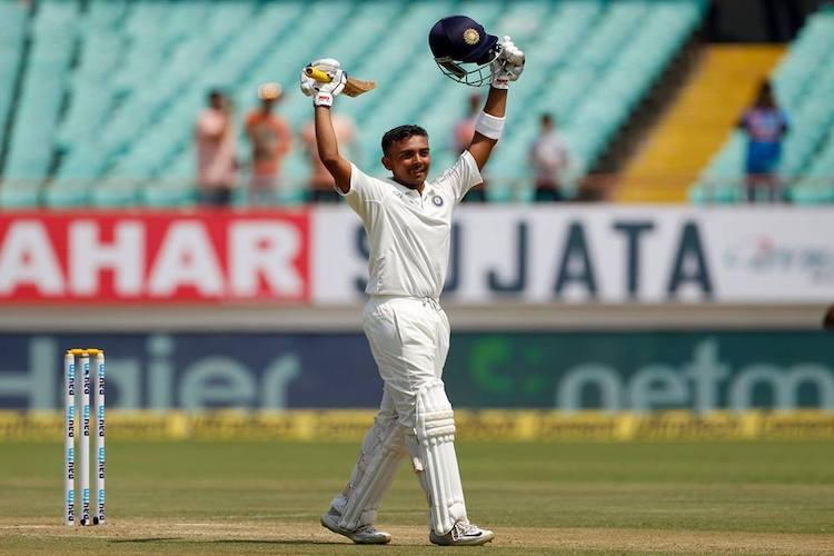 Prithvi Shaw was marvellous lets not compare him with Sehwag Ganguly