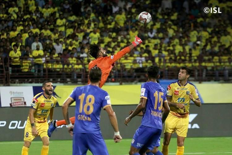 Kerala Blasters held to 1-1 draw Bhumijs long-range stunner equalises for Mumbai