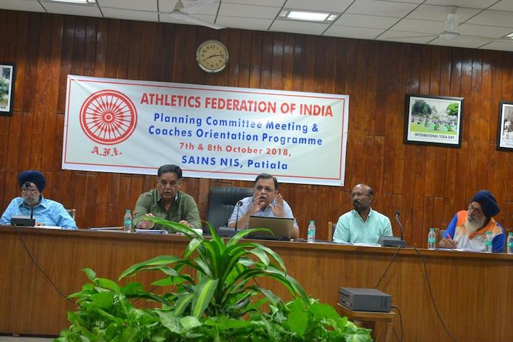 Athletics Federation of India targets 2020 Olympic success