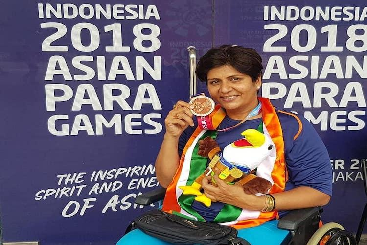 Para Asiad Deepa Malik bags bronze as India add 3 more golds to medal tally