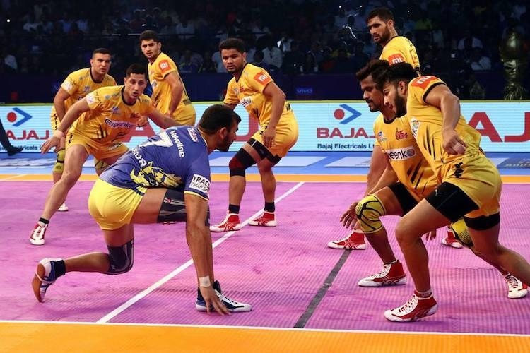 Pro Kabaddi Telugu Titans hand Tamil Thalaivas second straight defeat