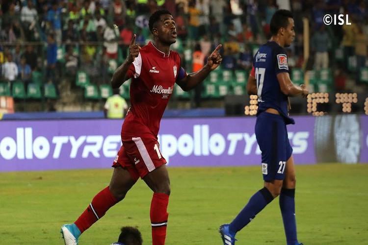 ISL Ogbeche stars as NorthEast United edge Chennaiyin in seven-goal thriller