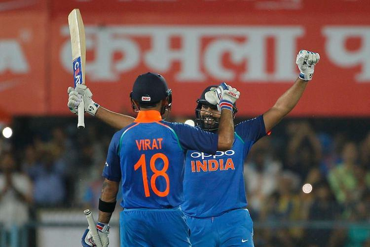 Rohit and Kohli star as India beat West Indies in 1st ODI