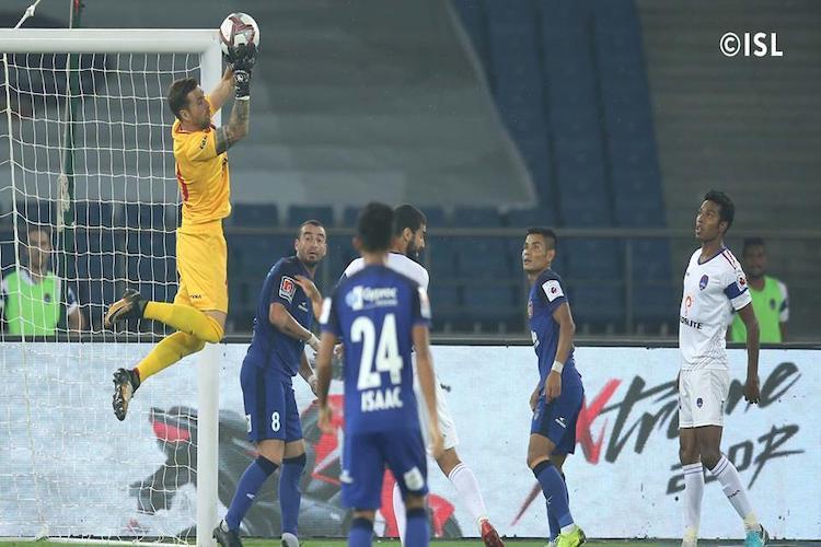 Delhi Dynamos Dorronsoro stars to hold Chennaiyin FC to a goalless draw