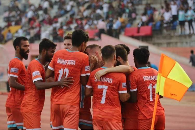 Chennai City ride Pedro Manzis hat-trick to beat Arrows in I-League opener