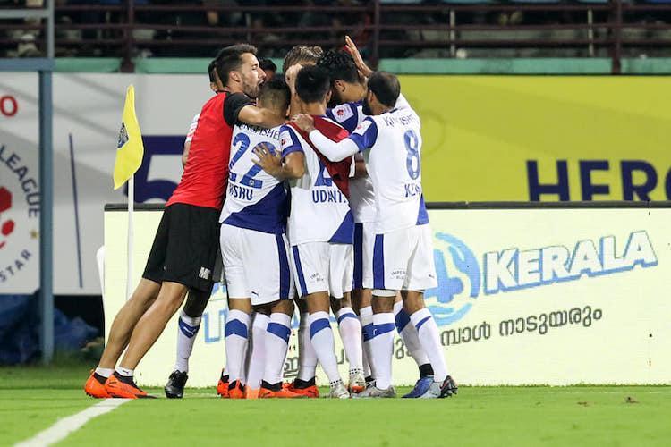 Bengaluru FC beat Kerala Blasters in ISL tie