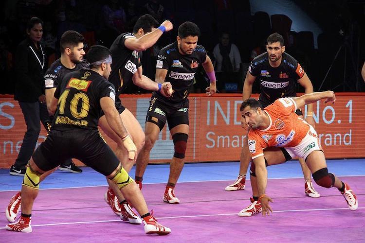 PKL 6 Telugu Titans pip Puneri Paltan in inter-zonal battle