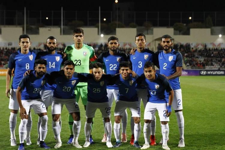 India go down fighting to Jordan in international football friendly