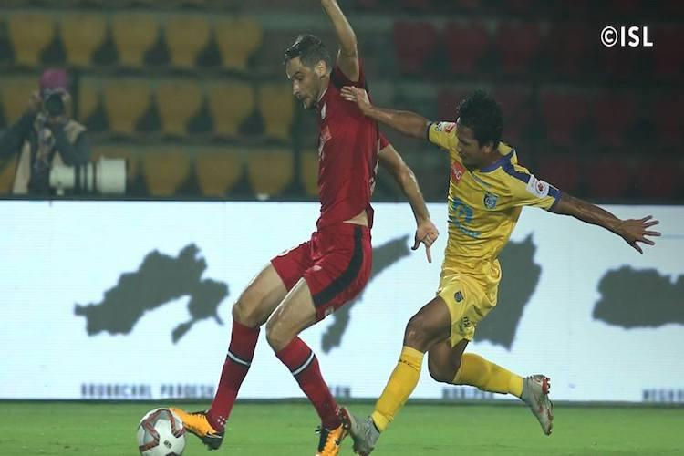 ISL NorthEast FC make stirring comeback to beat Kerala Blasters at the death