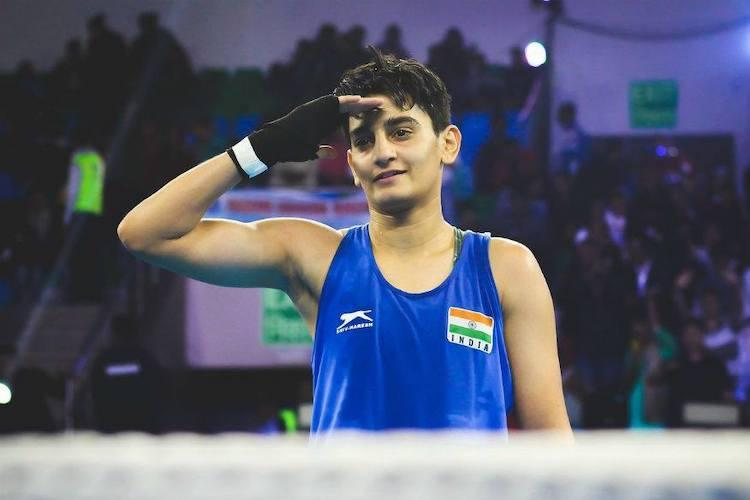 Sonia Chahal had to settle for silver in her debut World Championships