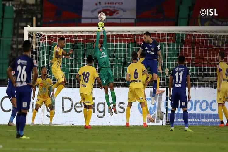 ISL Chennaiyin FC play goalless draw vs Kerala Blasters