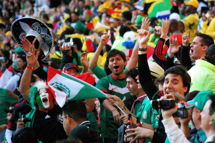 Mexican fans celebrating historic win over Germany trigger quake alarms