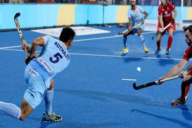 Hockey World Cup India hold Belgium in exciting clash