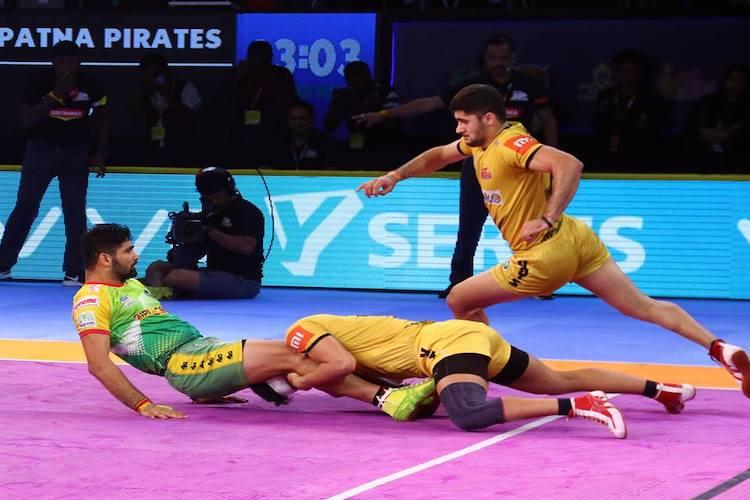 PKL Telugu Titans end home-leg on winning note